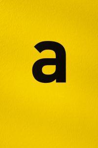 Sans serif font example