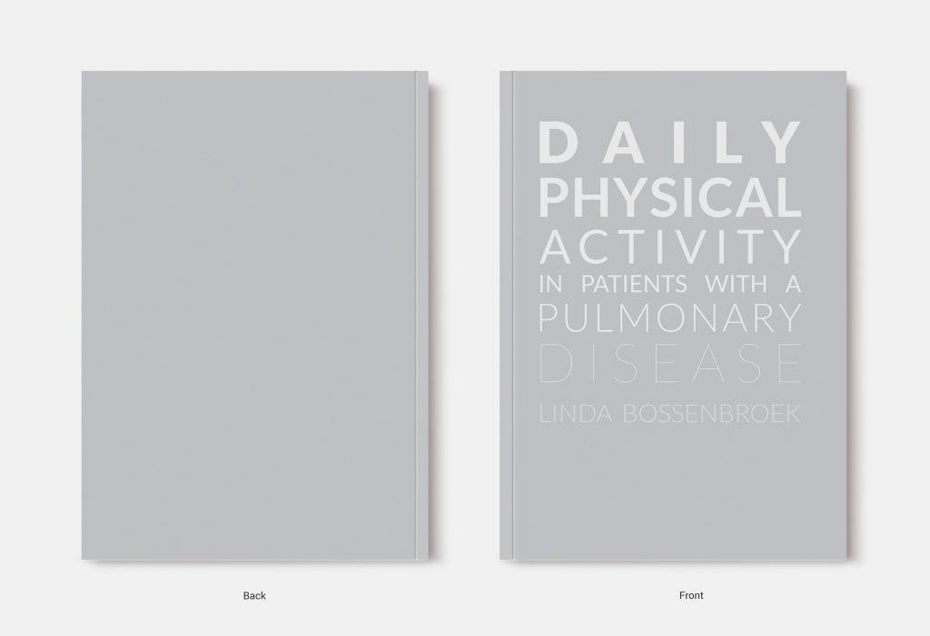 Proefschrift omslag voorbeeld ontworpen door Alex Wesselink