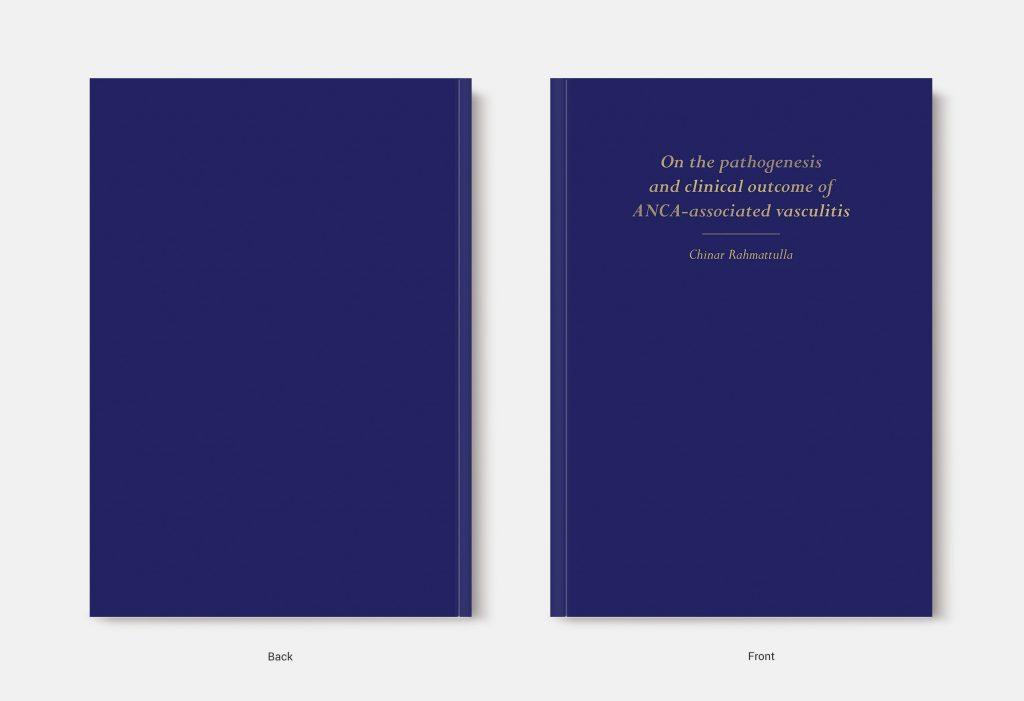 Proefschrift omslag voorbeeld ontworpen door Matthijs Ariëns