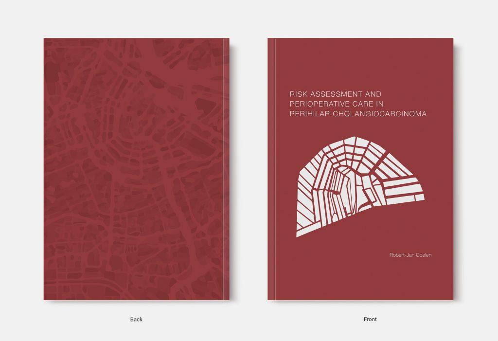 Proefschrift omslag voorbeeld ontworpen door Ilse Stronks