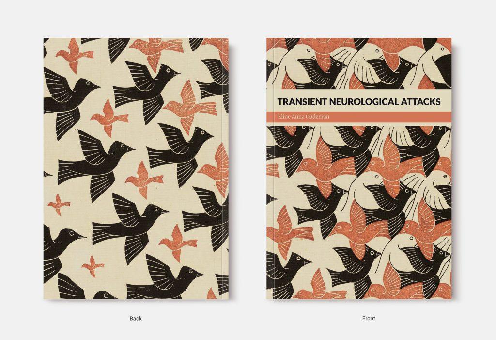 Proefschrift omslag voorbeeld ontworpen door Tineke Nogarede
