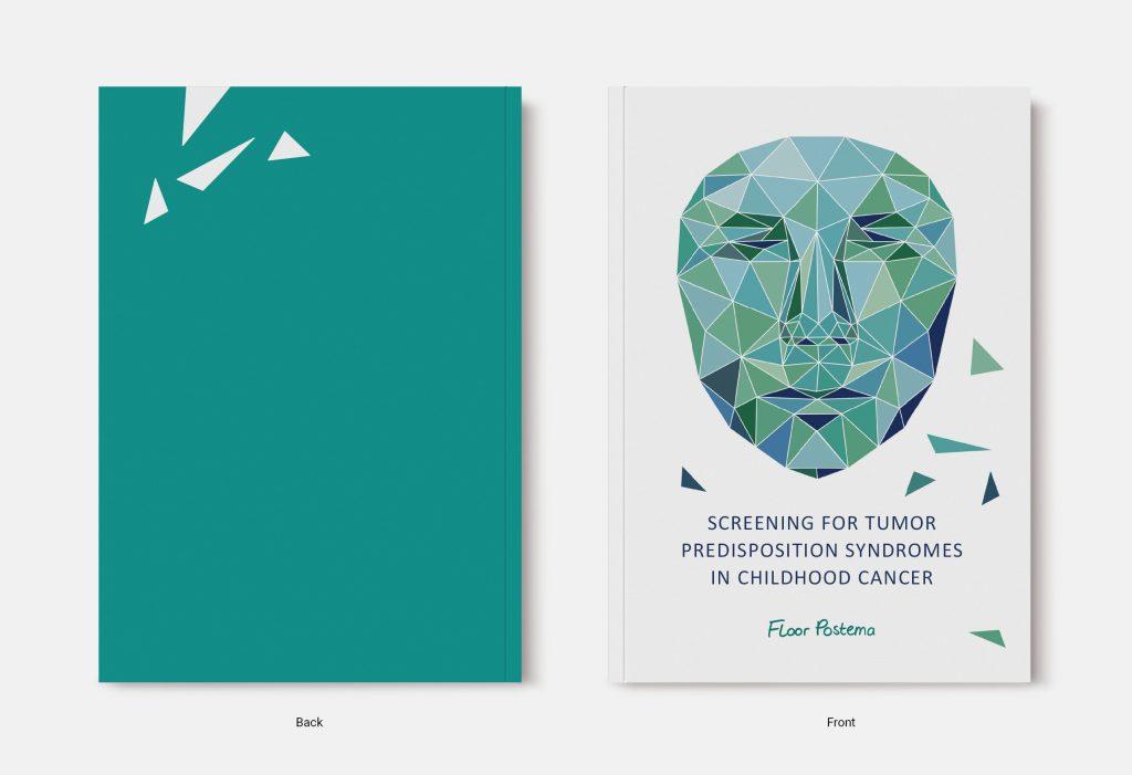 Proefschrift omslag voorbeeld ontworpen door Harma Makken