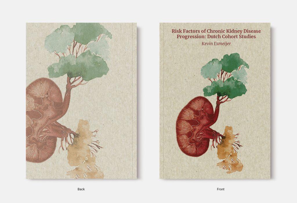 Proefschrift omslag voorbeeld ontworpen door Birgit Vredenburg