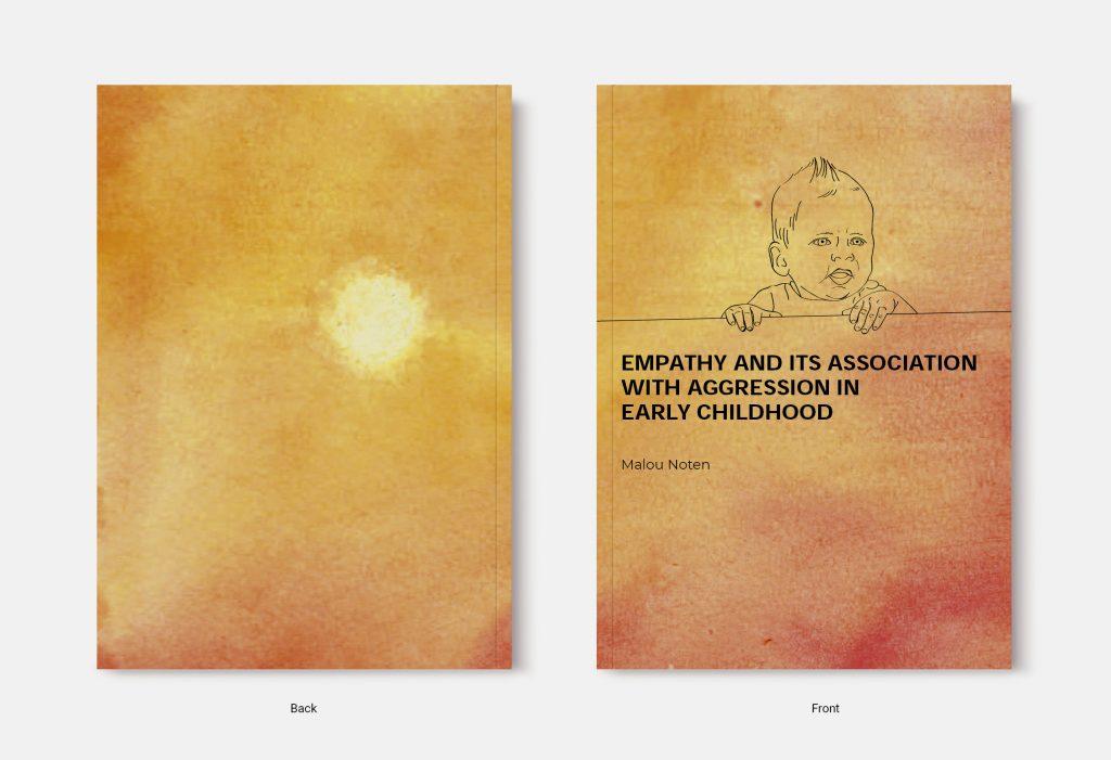 Proefschrift omslag voorbeeld ontworpen door Stijn Eikenaar