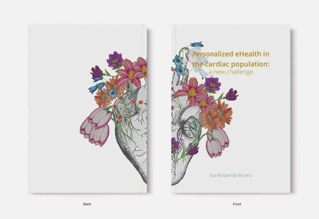 Proefschrift omslag voorbeeld ontworpen door Vera van Ommeren