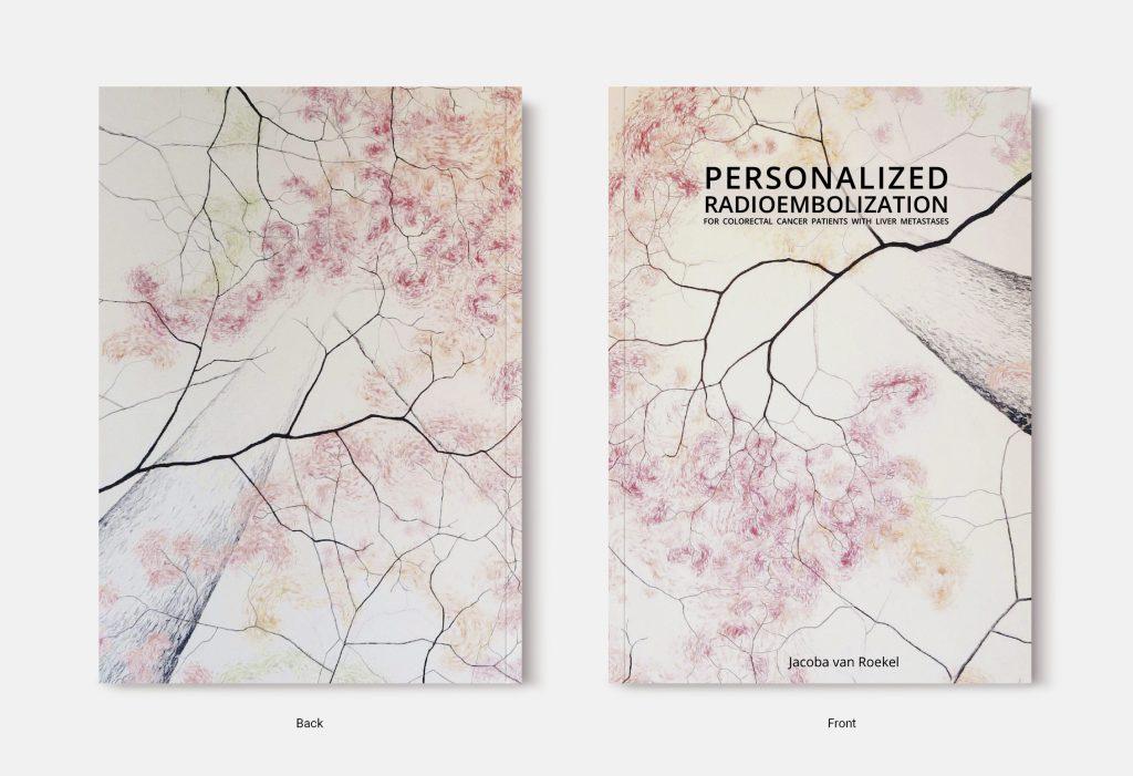 Proefschrift omslag voorbeeld ontworpen door Lara Leijtens