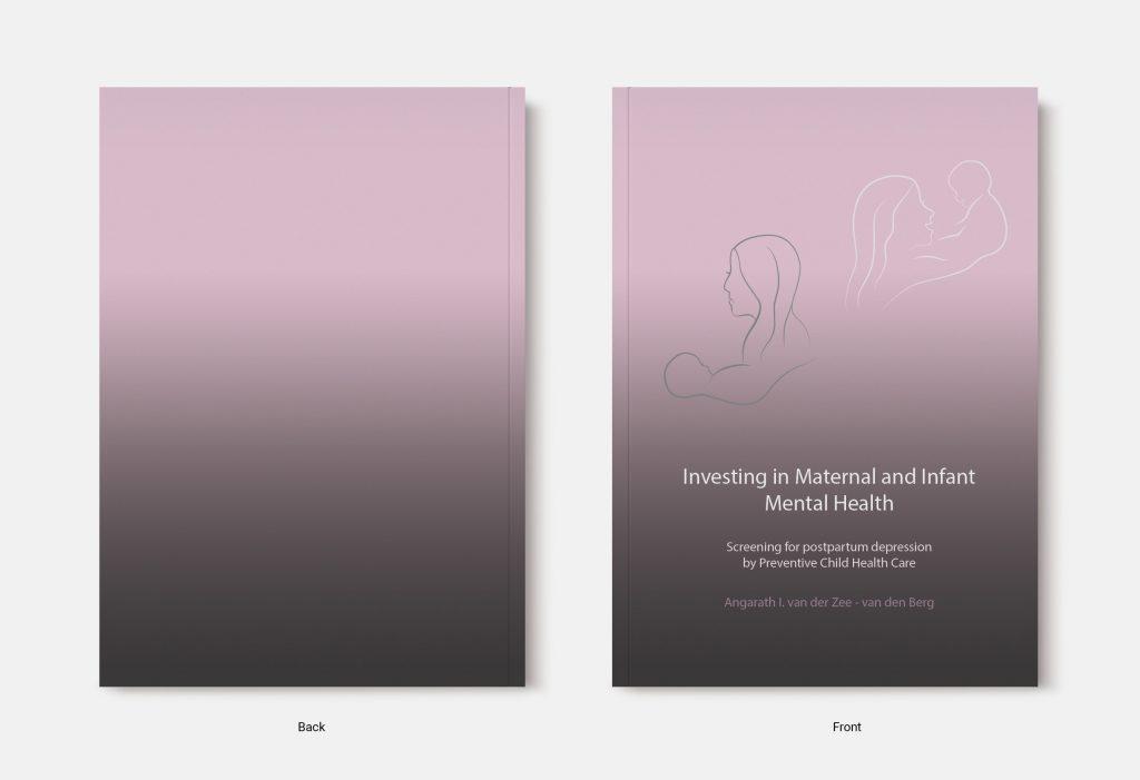 Proefschrift omslag voorbeeld ontworpen door Elisa Calamita