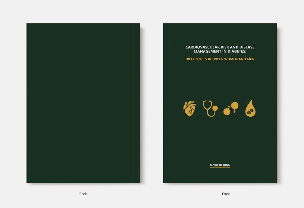 Proefschrift omslag voorbeeld ontworpen door Joppe Klein