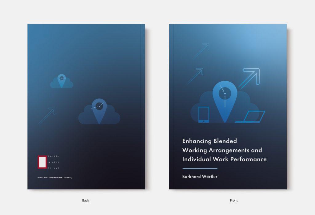 Proefschrift omslag voorbeeld ontworpen door Sara Terwisscha van Scheltinga
